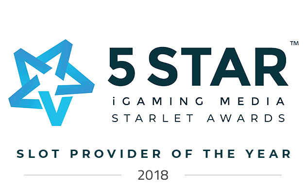5 Star Awards 2018 - Slot Provider Of The Year